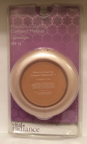 Vital Radiance Moisture Covering Compact Makeup 010 Vanilla Cool SPF 15