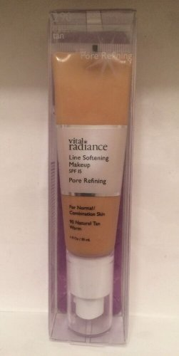 Vital Radiance Line Softening Pore Refining Makeup  290 Naural Tan Warm