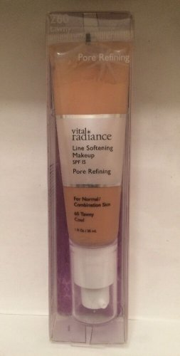 Vital Radiance Line Softening Pore Refining Makeup Foundation 260 Tawny Cool