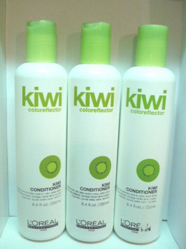 3 L'oreal Kiwi Coloreflector Kiwi Conditioner 8.4 fl.oz Each
