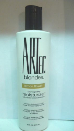 Artec Hair Color Depositing Moisturizer Conditioner LEMON FLOWER 8 fl.oz