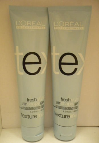 2 L'Oreal Textureline Freshstyle Air Shape Gel 4.9 fl.oz Each