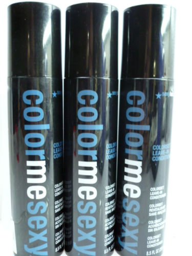 3  SEXY HAIR - COLOR ME SEXY - COLORSET LEAVE IN CONDITIONER 8.5 FL OZ Each