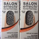 2 SALLY HANSEN NAIL POLISH STRIP SALON EFFECTS # 06 TAKE NOTE
