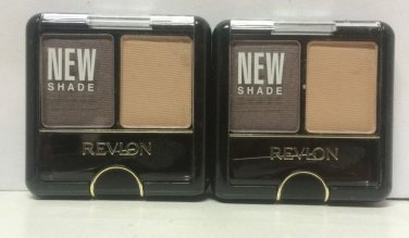 2 Revlon Eye Shadow Wet / Dry Duo  Camisole 3.1g Each