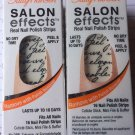 2 Sally Hansen Salon Effects Nail Polish Strips #410 Love Letter