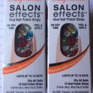 2 Sally Hansen Salon Effects Nail Polish Strips  580 TATTOO MUCH