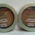 2 Sally Hansen Natural Beauty Fast Fix Concealer #1022-20 MEDIUM/DEEP