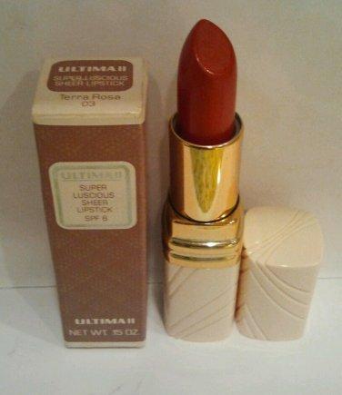 Ultima II Super Luscious Sheer Lipstick  Terra Rose 03
