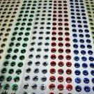 5 Packs 6mm 3D Fish Eyes Lures & Flies Choose 5 Colors