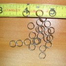 7mm Stainless Steel Split Rings 100pc. jewelry, lures