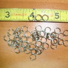 7 mm NKL Fine Gauge Split Rings 100pc. jewelry, lures