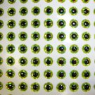 6mm  Chartreuse 100pc 3D Lure Eyes Tackle Making Crafts
