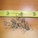 6mm Stainless Steel Split Rings. 100pcs Jewelry, Lures