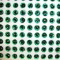 4mm Green 120pc 3D Holographic Eyes Lure Making Crafts