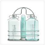 SEA MINERAL SCRUB WIRE CADDY KIT