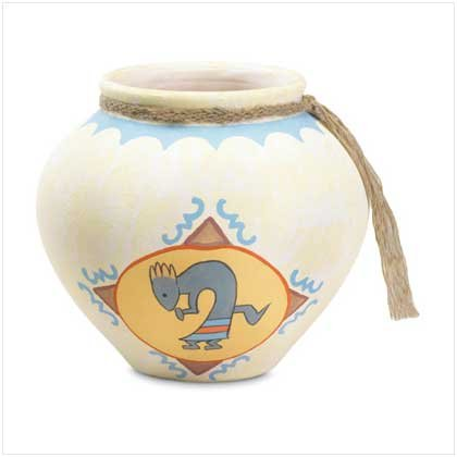 TRADITIONAL-STYLE CERAMIC POT   Retail: $19.95