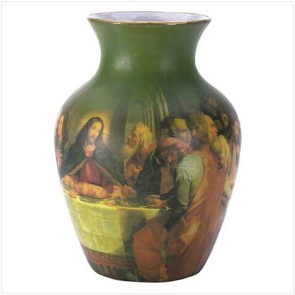 LAST SUPPER VASE  Retail: $24.95
