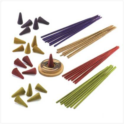 INCENSE GIFT SET   Retail: $4.95