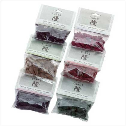 ZEN INCENSE CONES  Retail: 23.88