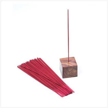 ORCHID SCENT INCENSE WITH HOLDER   Retail: $4.95