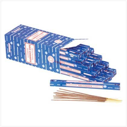 NAG CHAMPA INCENSE  Retail: $49.75
