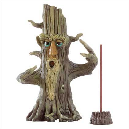 FORTUNETELLER TREE INCENSE BURNER  Retail: $14.95