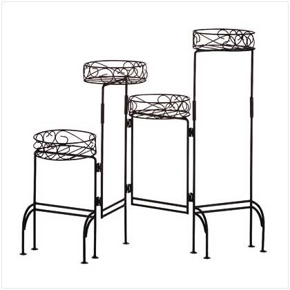 FOUR-TIER PLANT STAND SCREEN  Retail: $29.95