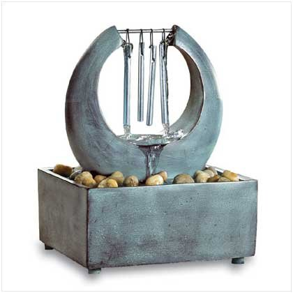 ZEN TABLETOP FOUNTAIN CHIME  Retail: $24.95