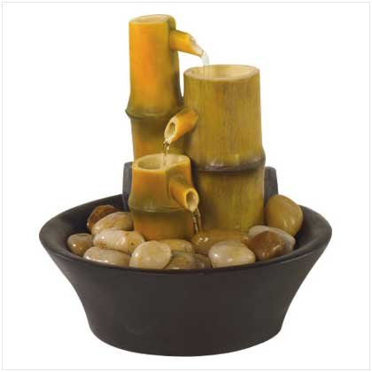 ZEN BAMBOO TABLETOP FOUNTAIN   Retail: $24.95