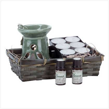 HAPPY FROG OIL WARMER SET  Retail: $14.95