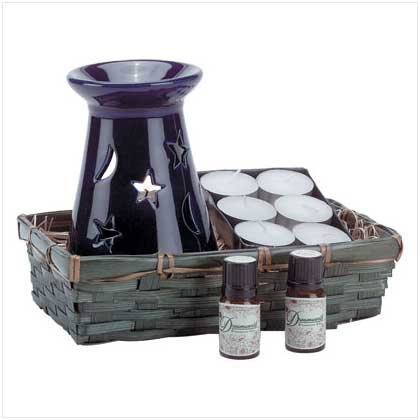 CELESTIAL OIL WARMER SET  Retail: $14.95
