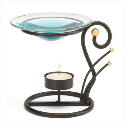 ART DECO OIL WARMER  Retail: $7.95
