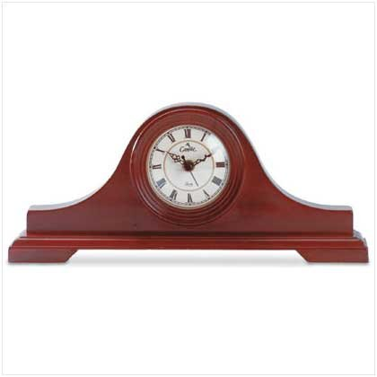 CLASSIC MANTLE CLOCK  RETAIL: $39.95