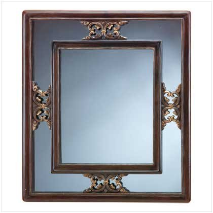 VICTORIAN WALL MIRROR  RETAIL: $59.95