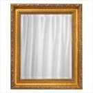 GOLDEN FRAMED WALL MIRROR  RETAIL: $89.95