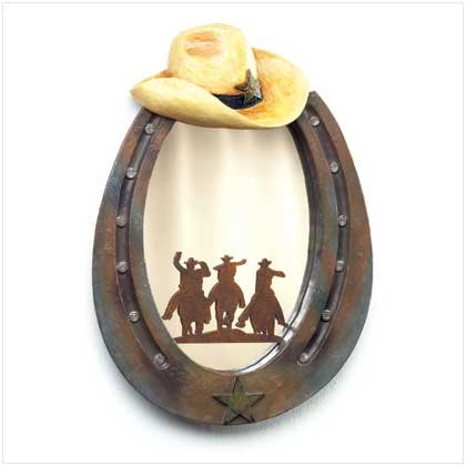 HORSESHOE MIRROR  RETAIL: $29.95