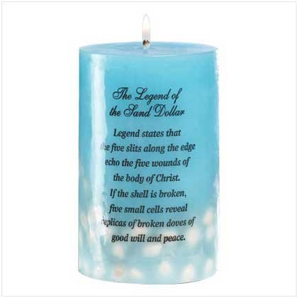 SEA TREASURES CANDLE   Retail Price: $9.95