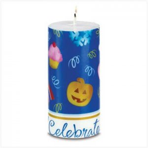 CELEBRATE! CANDLE    Retail; $16.95