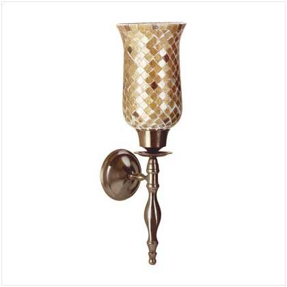 MOSAIC WALL SCONCE   Retail: $29.95