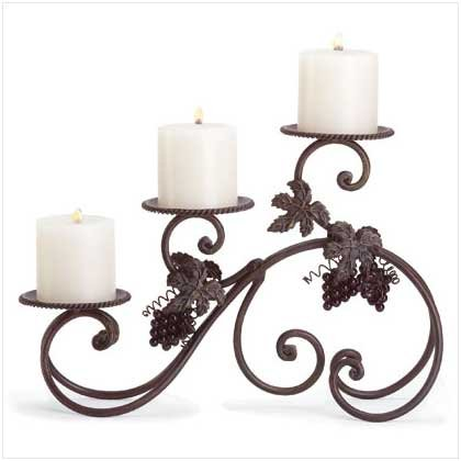 GRAPEVINE TABLETOP CANDLEHOLDER   Retail; $24.95