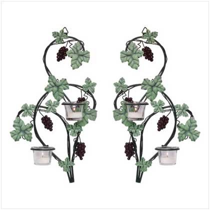 GRAPEVINE WALL SCONCES  Retail: $29.95