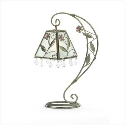 FLOWER SWIRL CANDLE HOLDER  Retail: $29.95