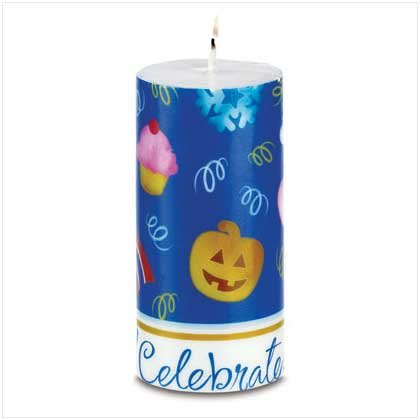 CELEBRATE! CANDLE  Reatil: $16.95
