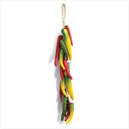 HANGING CHILI BOUQUET  Retail: $15.95
