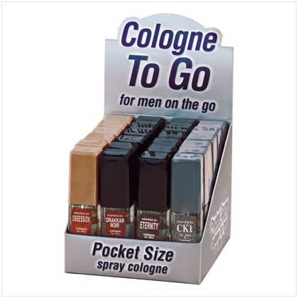Q MEN SPRAY COLOGNE   24 PACK