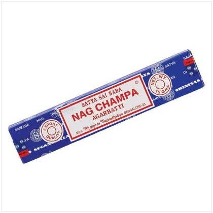 NAG CHAMPA INCENSE STICKS  12 BOXES
