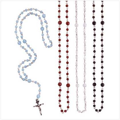 ROSARY BEADS  4 PACK