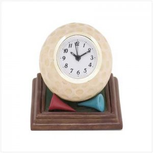 GOLF BALL CLOCK  Retail: $16.95