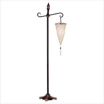 SPIRAL HANGING FLOOR LAMP	Retail: $99.95